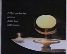 Terzo Anniversario Inizio Adorazione Eucaristica permanente
